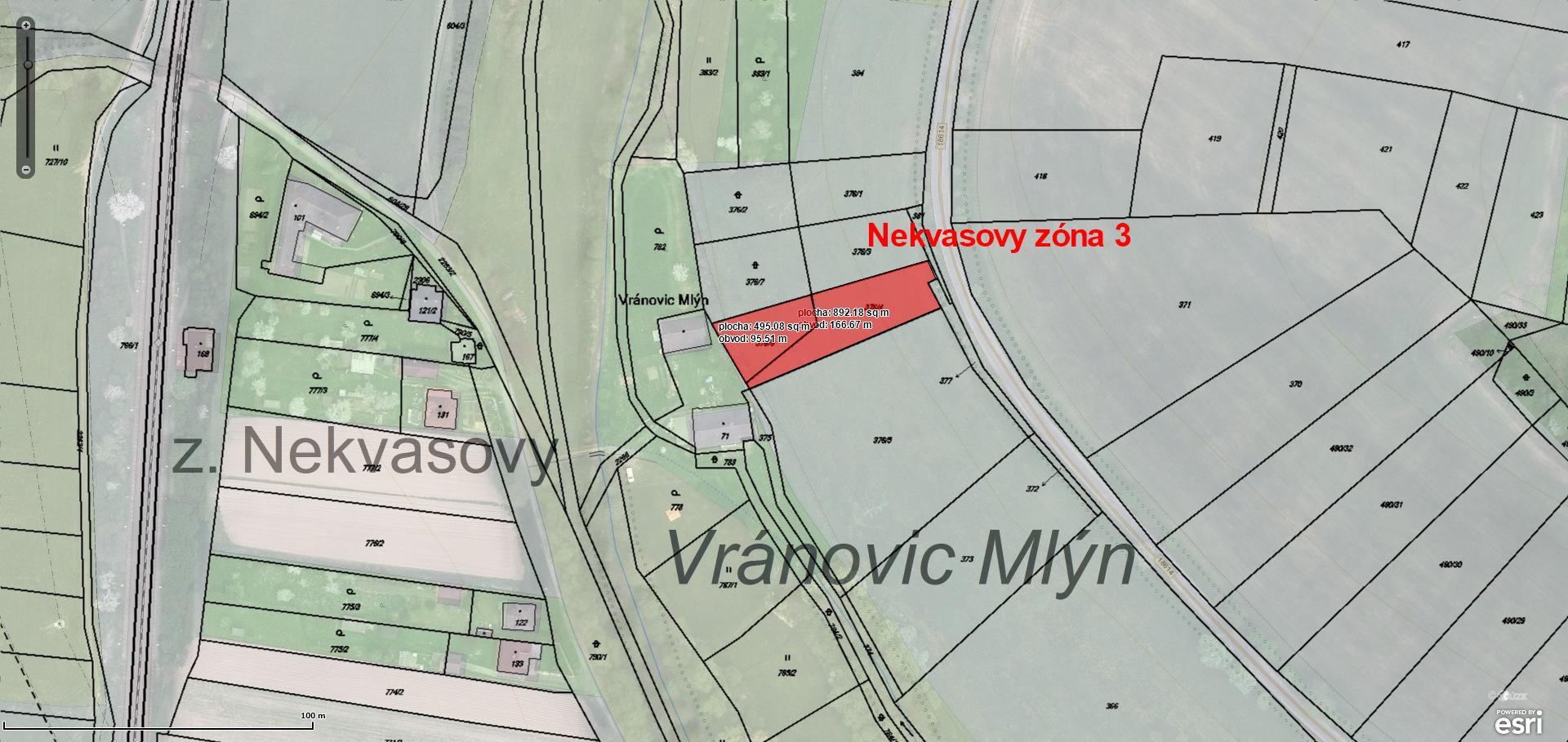 Pozemky Nekvasovy-4.zony
