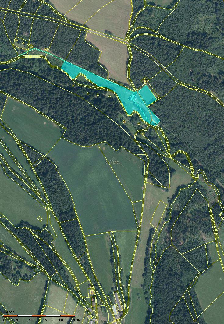 Stavební pozemky na Šumavě-Rajské údolí